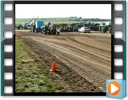 Rae Valley Heritage Association Video - Hot Rod Demo Tractor Pull