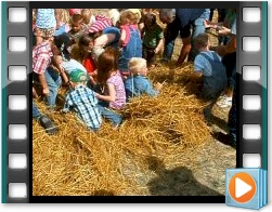 Rae Valley Heritage Association Video - Kids Money Scramble in the Hay
