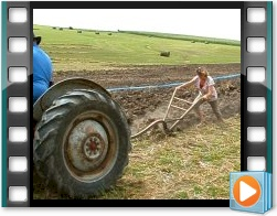 Rae Valley Heritage Association Video - Loaning a Walking Plow to a Lady