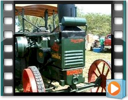Rae Valley Heritage Association Video - Antique Rumely Oil Pull Tractor