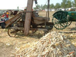 Link to Corn Shelling Working Displays Page of Rae Valley Heritage Association
