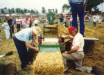 Link to Hay Baling Working Displays Page of Rae Valley Heritage Association